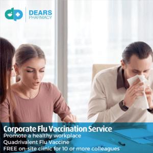 Dears Pharmacy Corporate Flu Vaccination Service